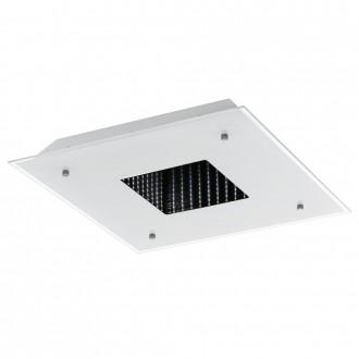 EGLO 93659 | Licosa Eglo stenové, stropné svietidlo diaľkový ovládač 1x LED 2700lm 3000K biela, priesvitné