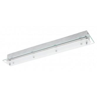 EGLO 93887 | Fres-LED Eglo stenové, stropné svietidlo 4x LED 2040lm 3000K chróm, saténový, priesvitná