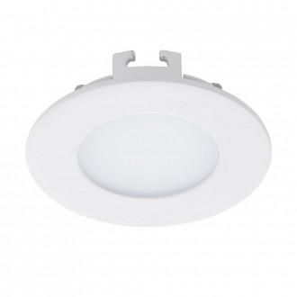 EGLO 94041 | Fueva_1 Eglo zabudovateľné LED panel kruhový Ø85mm 1x LED 300lm 3000K biela