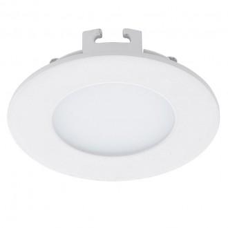 EGLO 94043 | Fueva_1 Eglo zabudovateľné LED panel kruhový Ø85mm 1x LED 360lm 4000K biela