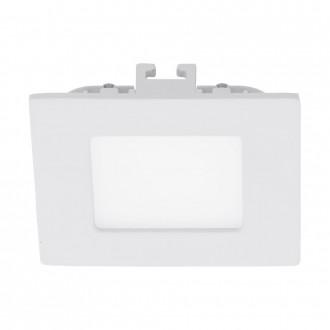 EGLO 94045 | Fueva_1 Eglo zabudovateľné LED panel štvorec 85x85mm 1x LED 300lm 3000K biela