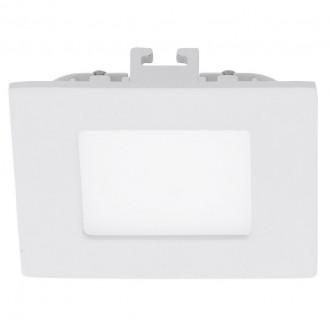 EGLO 94046 | Fueva_1 Eglo zabudovateľné LED panel štvorec 85x85mm 1x LED 360lm 4000K biela