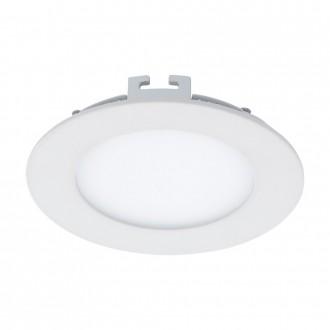 EGLO 94047 | Fueva_1 Eglo zabudovateľné LED panel kruhový Ø120mm 1x LED 600lm 3000K biela