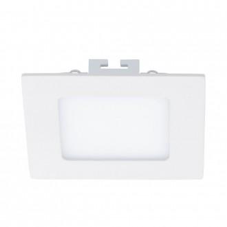 EGLO 94053 | Fueva_1 Eglo zabudovateľné LED panel štvorec 120x120mm 1x LED 600lm 3000K biela