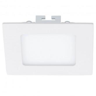 EGLO 94054 | Fueva_1 Eglo zabudovateľné LED panel štvorec 120x120mm 1x LED 700lm 4000K biela