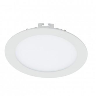 EGLO 94055 | Fueva_1 Eglo zabudovateľné LED panel kruhový Ø170mm 1x LED 1200lm 3000K biela