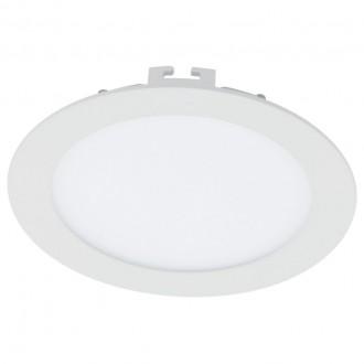EGLO 94056 | Fueva_1 Eglo zabudovateľné LED panel kruhový regulovateľná intenzita svetla Ø170mm 1x LED 1200lm 3000K biela