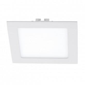 EGLO 94061 | Fueva_1 Eglo zabudovateľné LED panel štvorec 170x170mm 1x LED 1200lm 3000K biela