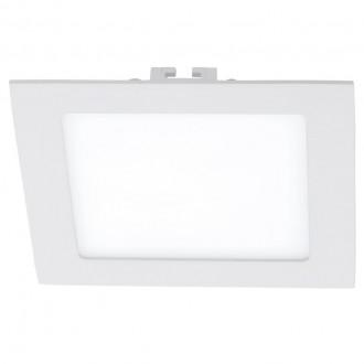 EGLO 94062 | Fueva_1 Eglo zabudovateľné LED panel štvorec 170x170mm 1x LED 1350lm 4000K biela