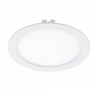 EGLO 94063 | Fueva_1 Eglo zabudovateľné LED panel kruhový Ø225mm 1x LED 1600lm 3000K biela