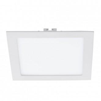 EGLO 94068 | Fueva_1 Eglo zabudovateľné LED panel štvorec 225x225mm 1x LED 1700lm 3000K biela