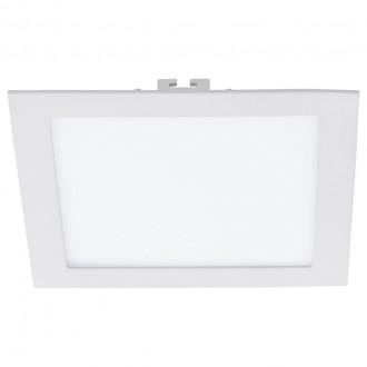 EGLO 94069 | Fueva_1 Eglo zabudovateľné LED panel štvorec 225x225mm 1x LED 2080lm 4000K biela