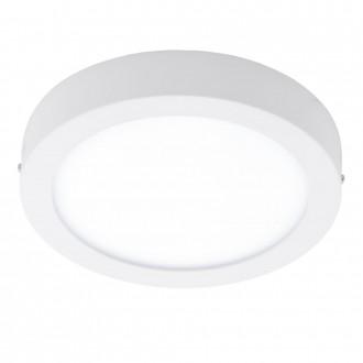 EGLO 94075 | Fueva_1 Eglo stenové, stropné LED panel kruhový 1x LED 1600lm 3000K biela
