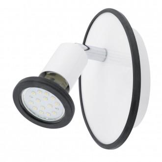 EGLO 94171 | Modino Eglo spot svietidlo otočné prvky 1x GU10 240lm 3000K biela, chróm, farebné
