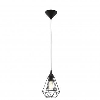 EGLO 94187 | Tarbes Eglo visiace svietidlo 1x E27 čierna