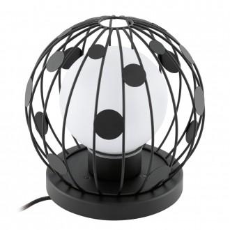 EGLO 94335 | Terrico Eglo stojaté svietidlo 31cm 1x E27 IP54 čierna, biela