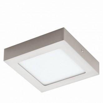 EGLO 94524 | Fueva_1 Eglo stropné LED panel štvorec 1x LED 1200lm 3000K matný nikel, biela