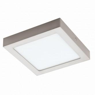 EGLO 94526 | Fueva_1 Eglo stropné LED panel štvorec 1x LED 1700lm 3000K matný nikel, biela