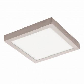 EGLO 94528 | Fueva_1 Eglo stropné LED panel štvorec 1x LED 2600lm 3000K matný nikel, biela