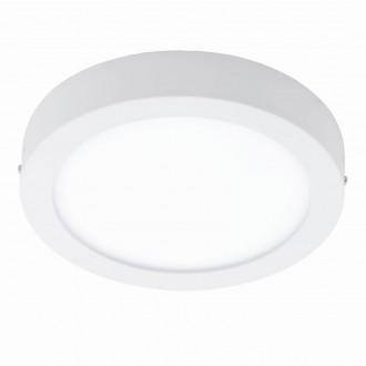 EGLO 94535 | Fueva-1 Eglo stenové, stropné LED panel kruhový 1x LED 2200lm 3000K biela