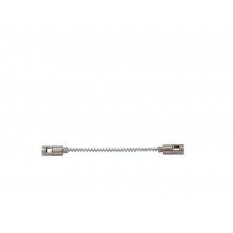 EGLO 94609 | Vilanova Eglo prvok systému - spojovač koľajníc doplnok flexibilné matný nikel