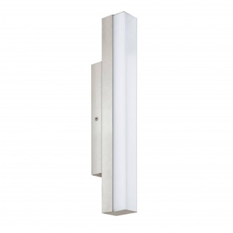 EGLO 94616 | Torretta Eglo rameno stenové svietidlo 1x LED 770lm 4000K IP44 matný nikel, biela
