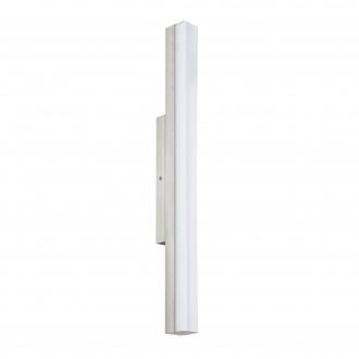 EGLO 94617 | Torretta Eglo rameno stenové svietidlo 1x LED 1500lm 4000K IP44 matný nikel, biela