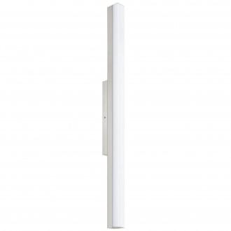 EGLO 94618 | Torretta Eglo stenové svietidlo 1x LED 2200lm 4000K IP44 matný nikel, biela