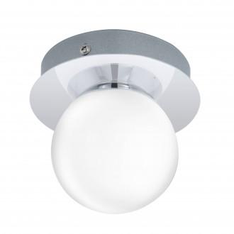 EGLO 94626 | Mosiano Eglo stenové, stropné svietidlo 1x LED 340lm 3000K IP44 chróm, biela