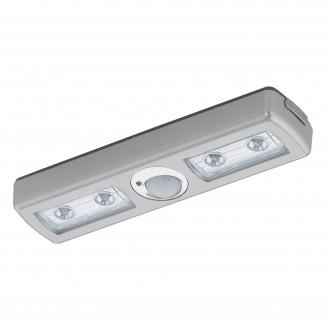 EGLO 94686 | Baliola Eglo osvetlenie nábytku svietidlo pohybový senzor 4x LED 780lm 3000K matný nikel