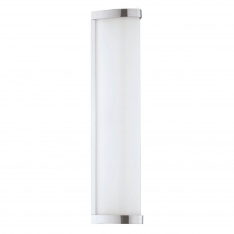 EGLO 94712 | Gita-2-LED Eglo stenové, stropné svietidlo 1x LED 900lm 4000K IP44 chróm, biela