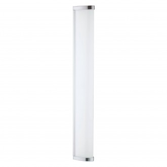 EGLO 94713 | Gita-2-LED Eglo stenové, stropné svietidlo 1x LED 1700lm 4000K IP44 chróm, biela