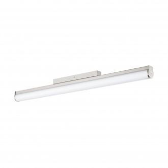 EGLO 94717 | Calnova Eglo rameno stenové svietidlo 1x LED 2200lm 4000K IP44 matný nikel, biela