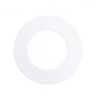 EGLO 94732 | Fueva_1 Eglo zabudovateľné LED panel kruhový 3 dielna súprava Ø85mm 3x LED 900lm 3000K biela