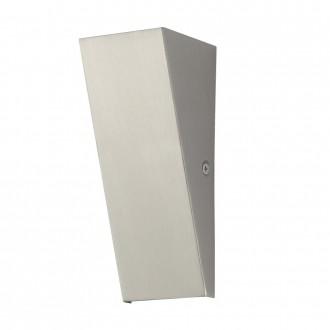 EGLO 94793 | Zamorana Eglo stenové svietidlo 1x LED 180lm 3000K IP44 zušľachtená oceľ, nehrdzavejúca oceľ