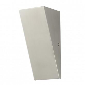 EGLO 94794 | Zamorana Eglo stenové svietidlo 1x LED 320lm 3000K IP44 zušľachtená oceľ, nehrdzavejúca oceľ