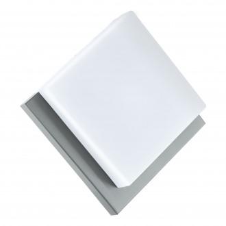 EGLO 94877 | Infesto-1 Eglo stenové, stropné svietidlo tehla 1x LED 820lm 3000K IP44 strieborný, biela