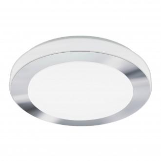 EGLO 95283 | Carpi-LED Eglo stenové, stropné svietidlo 1x LED 1500lm 3000K IP44 chróm, biela