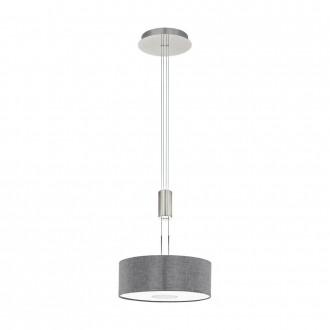 EGLO 95347 | Romao Eglo visiace svietidlo protiváhové, nastaviteľná výška, regulovateľná intenzita svetla 1x LED 1600lm 3000K matný nikel, chróm, sivé