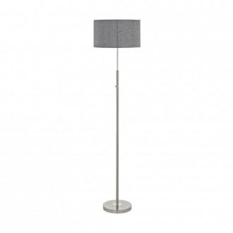 EGLO 95353 | Romao Eglo stojaté svietidlo 161,5cm dotykový prepínač s reguláciou svetla 1x LED 2210lm 3000K saténový nike, chróm, sivé