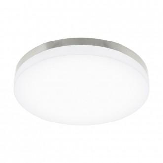 EGLO 95497 | EGLO-Smart_Sortino-S Eglo stropné mudré osvetlenie regulovateľná intenzita svetla, nastaviteľná farebná teplota 1x LED 2650lm 2700 <-> 5000K matný nikel, biela