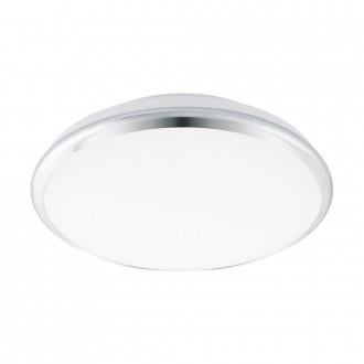 EGLO 95551 | EGLO-Smart_Manilva-S Eglo stenové, stropné mudré osvetlenie regulovateľná intenzita svetla, nastaviteľná farebná teplota 1x LED 1900lm 2700 <-> 5000K chróm, biela
