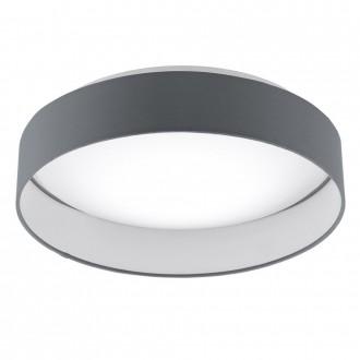 EGLO 95552 | EGLO-Smart_Palomaro-S Eglo stropné mudré osvetlenie regulovateľná intenzita svetla, nastaviteľná farebná teplota 1x LED 1900lm 2700 <-> 5000K biela, antracit