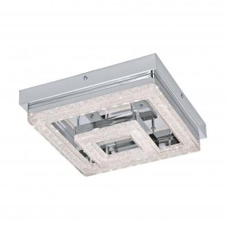 EGLO 95659 | Fradelo Eglo stropné svietidlo 1x LED 1250lm 3000K chróm, priesvitná