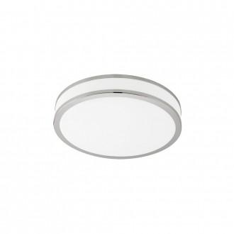EGLO 95683 | Palermo-3 Eglo stenové, stropné svietidlo regulovateľná intenzita svetla, nastaviteľná farebná teplota 1x LED 2100lm 2700 - 4500 - 6000K biela, chróm