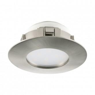 EGLO 95806 | Pineda Eglo zabudovateľné svietidlo Ø78mm 1x LED 500lm 3000K matný nikel