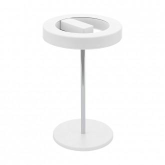 EGLO 95906 | EGLO-Smart_Alvendre-S Eglo stolové mudré osvetlenie 35cm prepínač na vedení regulovateľná intenzita svetla, nastaviteľná farebná teplota 1x LED 1400lm 2700 <-> 5000K biela, chróm