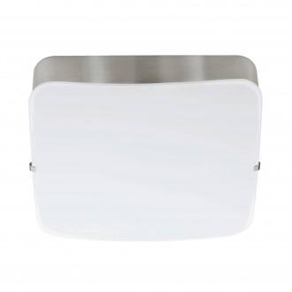 EGLO 95967 | Cupella-1 Eglo stenové, stropné svietidlo 1x LED 950lm 3000K matný nikel, biela