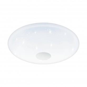 EGLO 95973 | Voltago Eglo stropné svietidlo diaľkový ovládač regulovateľná intenzita svetla, nastaviteľná farebná teplota 1x LED 3500lm 2700 <-> 5000K biela, kryštálový efekt