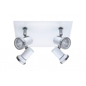 EGLO 95995 | Tamara1-LED Eglo spot svietidlo 4x GU10 960lm 3000K IP44 biela, chróm